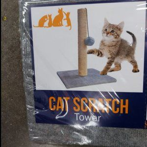 Cat Tower Scratcher 16in Cat Supplies